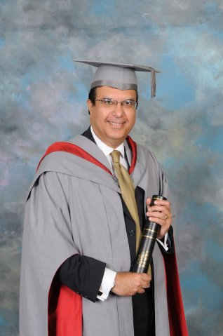 July 2011 - Honorary Fellowship from University of Central Lancashire