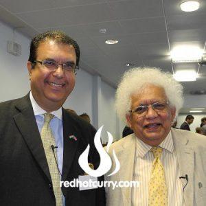 June 2012 - With Lord Desai at CISI seminar
